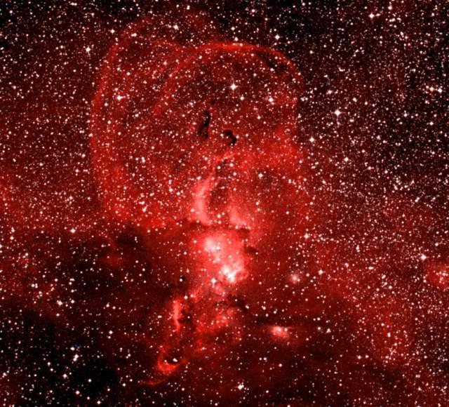 NGC 3576, 3579, 3581, 3582, 3584 and 3586